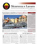 La stampa del primo numero di Sicurezza e Lavoro